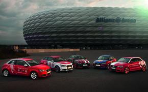 Audi, macchinario, Audi, Allianz Arena