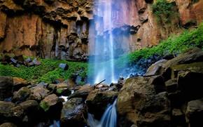 cascata, Rocks, natura