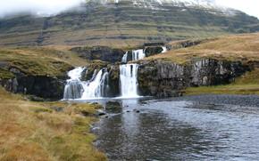 cascata, kirkjufellsfoss, Islanda