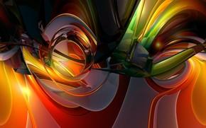 Abstraccin, 3d, arte