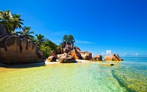 Seychelles, trpicos, playa