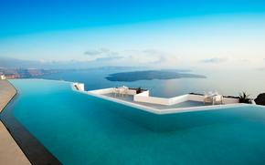 Grecia, Santorini, albergo