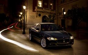 Sur place, lumire, rayons, lumires, Maserati, btiment, lumires