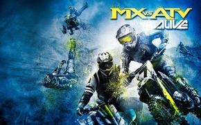 Moto, race, ATV