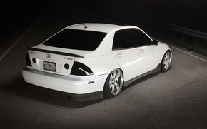 bianco, Lexus, Sintonia, Lexus, strada