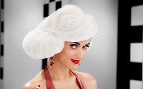 ver, cabello, cantante, Katy Perry, Msica, Pendientes