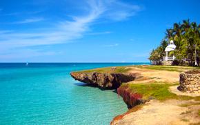 Caribe, Praia, Hotel