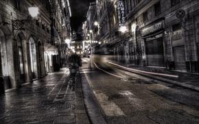 ul, night, lights