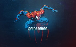 spiderman, spiderman, spider-man, a superhero