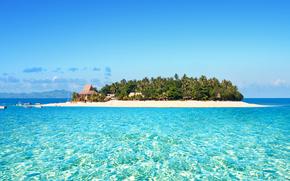 ocano, Fiyi, isla