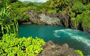 Гавайи, острова, пейзаж