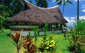 острова, пляж, пейзаж