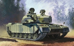 land, primary, Art, combat, troops, operation, Year, tank, UK, with, picture