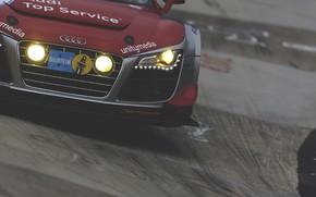 Audi, Audi, gara, traccia