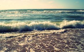 mer, cte, paysage