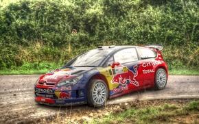 Sport, race, asphalt, road, Rally Car, Germany, Citroen, asphalt