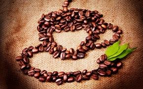 grano, jarra, deja, Creatividad, caf, imagen