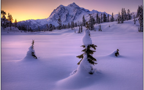 three kings - mount shukasan, north cascades national park, wa