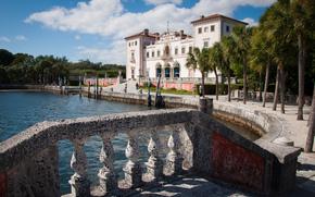 Florida, palma, miami, Museo e giardini di Vizcaya
