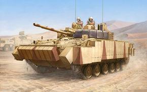 советская, армия, ОАЭ, боевая машина пехоты, техника