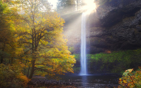 a burst of hope, silver falls state park, or