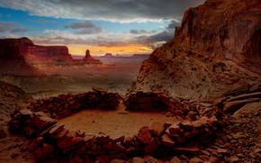 un po 'di tempi antichi - falso Kiva, Parco nazionale di Canyonlands, Utah