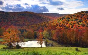valle sul lago, Vermont, Stati Uniti d'America