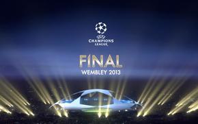 Champions League, Veranstaltung, Nacht, Fuball, Stadion, Emblem, Finale, Tapete