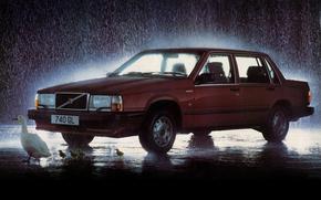 Volvo, 740, uk-spec, Coche, mquina, ganso