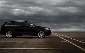 Audi, Audi q7, black