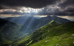 cielo, Montagne, nuvole