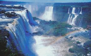 Chutes d'Iguaçu, la rivière Iguaçu, Brasil
