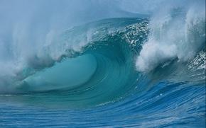 Shorebreak Waves, Waimea Bay, Hawaii