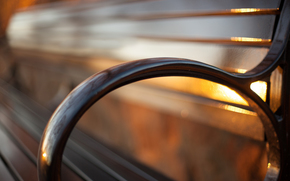 золотой, закат, свет, боке, лавочка, Will Steward Photography
