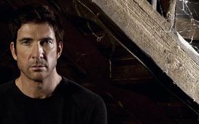 Dylan McDermott, Ben Harmon, wire, attic, TV series, web, American horror story, corrugation