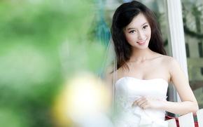 девушка, невеста, настроение