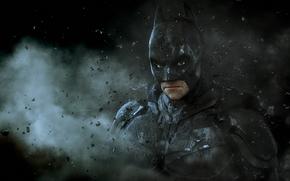 мужчина, костюм, арт, маска, камни, Бэтмен