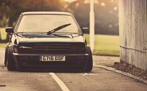 Volkswagen, sintonizzazione, nero