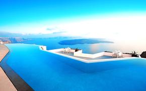 Grecia, albergo, mare