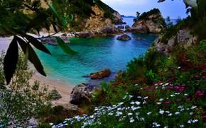 Piso Kryoneri praia, Parga, Grécia