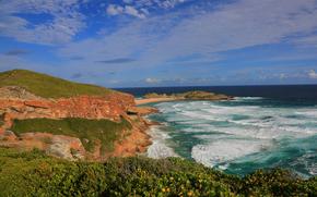 Péninsule Robberg, Réserve naturelle Robberg, Plettenbergbaii, Western Cape, Afrique du Sud