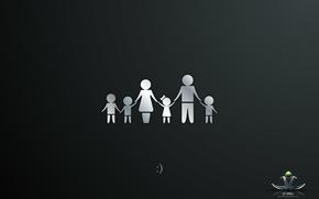 Family, love, happiness, son, daughter, husband, wife, children, Michael Mukhortov, jc-mike, design studio good luck