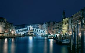 Мост, Риальто, Венеция, Италия
