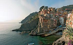 Cinque Terre, Włochy, wybrzeże