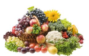 harvest, fruit, vegetables