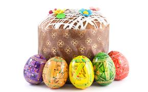 Torta de Pascua, Krashenki, Pascua