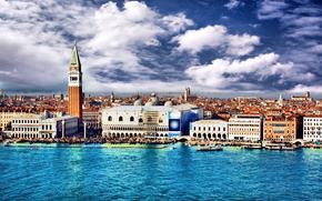 Венеция, Италия, дворец дожей