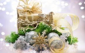 new, year, ornamentation