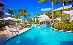 tropics, RESORT, pool