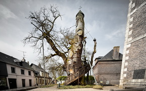 The Oak Chapel, Allouville-Bellefosse, Haute-Normandie, France